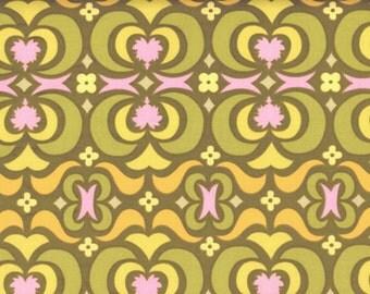 Amy Butler, Midwest Modern, Garden Maze, Olive, 1 Yard