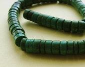 Large Turquoise Heishi Beads