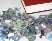 Scrapbooking Chipboard (80 Plus Lot) - Letters