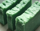 Polyester Tweed Olive Oil Soap Bar (Vegan)
