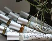 Coconut Lemongrass Oil Perfume (Vegan) 10 mL Roll-On
