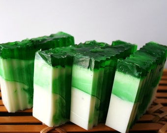 Exfoliating Lime & Coconut Soap bar
