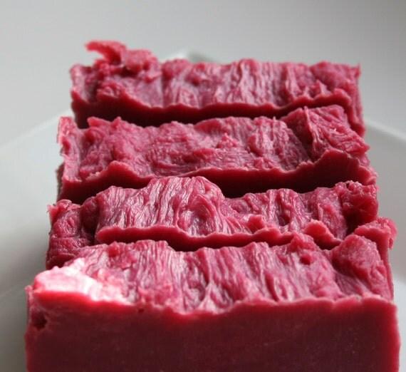 Pomegranate Fig Olive Oil Soap Bar (Vegan)
