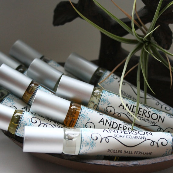 Coconut Lemongrass Oil Perfume (Vegan) 10 mL Roll-On