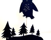 Owl Treescape