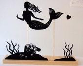 Mermaid Seascape