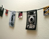 The Vintage Camera Garland