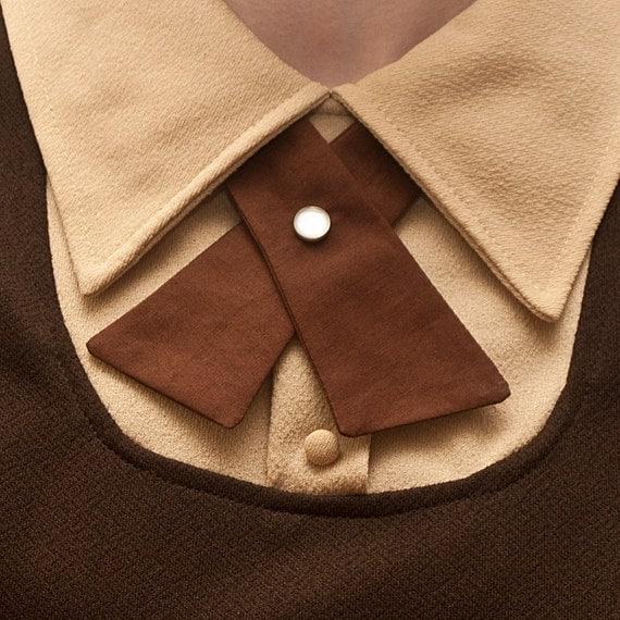 Lady Tie - Chocolate Brown