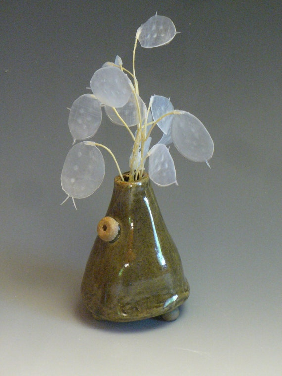 Blue Bud Vase - Small Vase