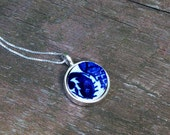Vintage Blue Willow Necklace