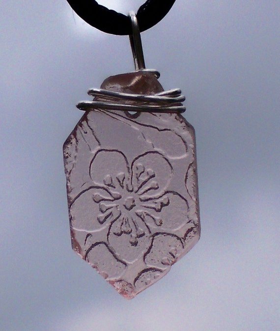 Antique Cherry Blossom Pink Depression Glass - Reclaimed and Recycled