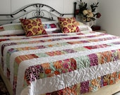 King Queen Bed Quilt DREAMCATCHER Reversible