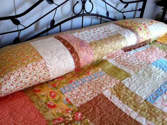 A little Bit Shabby a lot of Chic king size bed Quilt