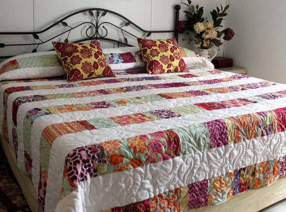King Queen Bed Quilt DREAMCATCHER Reversible