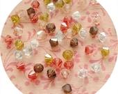 Kimono - Swarovski 4mm Bicone Crystal Mix (50 beads)