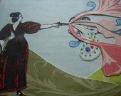 Annie Oakley - ACEO Collage Original