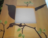 Natural Bird Painted Picture Frame