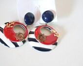 Nautical Pierced Earrings