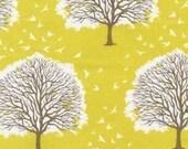 1 yard of Joel Dewberry - Modern Meadow - Majestic Oak in Sunglow