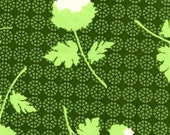 CLEARANCE  1 Yard of Joel Dewberry - Ginseng Collection - Home Decor - Tossed Flowers in Thyme