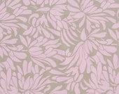 CLEARANCE  1 Yard of Amy Butler Daisy Chain - Daisy Bouquet in Grey