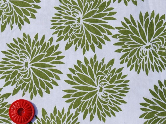 SALE High Society by Anthology - Zinnia in Olive - Half yard listing