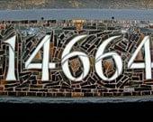 5 Digit Mosaic House Numb...