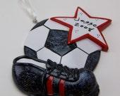 Custom Soccer Ornament for Kayla