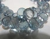 Gorgeous Tanzanite Mystic Quartz 6 Briolettes