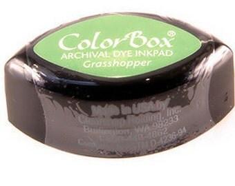 ColorBox Cat's Eye Dye Ink Pad - Grasshopper