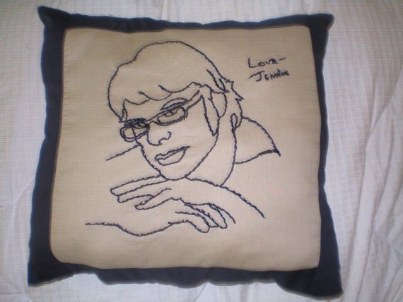 Flight of the Conchords pillow