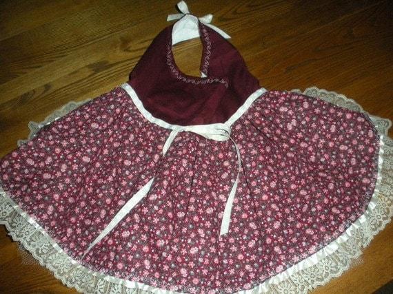 Pug or Small Dog Handmade Dress