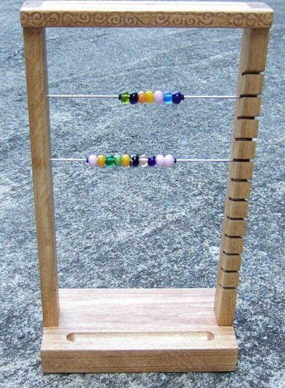 Handmade Bead Display - for your studio, shop or show