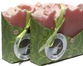 Cherry Blossom Handmade Soap Olive Oil Soap