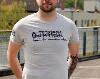Bellingham Herald Sign Tee Men's
