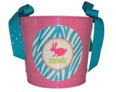 Personalized Easter 10 Quart Easter Bucket