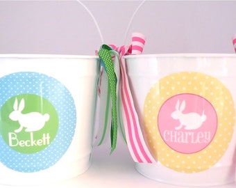 Personalized Easter Bucket - 10 Quart