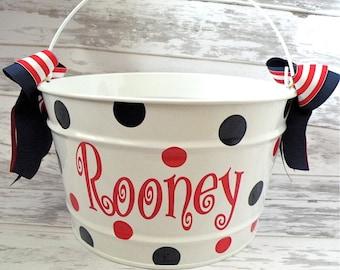 16 Quart Personalized Bucket