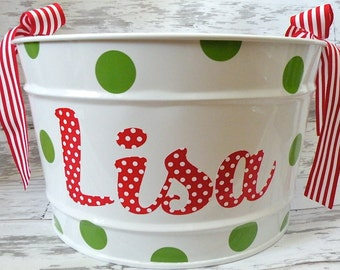 16 Quart Christmas Bucket