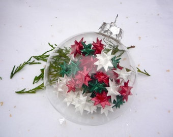 star filled ornament -christmas
