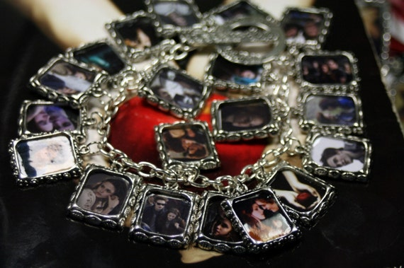 ULTIMATE Twilight Photo Charm Bracelet 20 Photos Find Your Favorite by Shadesongs