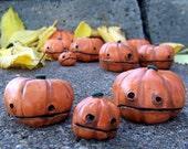 pumpkin family no.1, 3 pumpkins