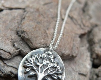 Petite Oval Tree Of Life Necklace