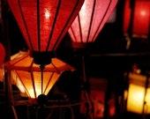 Vietnamese Lanterns- 8x12 art print