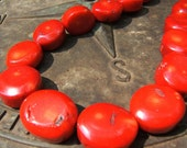 STUDIO OVERSTOCK From Sandra Eileen - Bamboo Coral Slices - Strand -