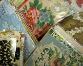 Vintage Wallpaper Scrap Pack
