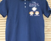Priority Mail  Shipping Custom Personalized Dad Daddy Grandpa Grandma Uncle S-XL Polo Shirt Includes up to THREE  Faces