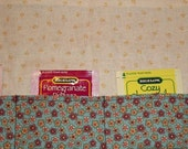 RESERVED for Elaine aka mamaloon Tea Bag Roll Organizer
