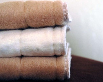 Microfiber gDiaper Inserts - Set of 5 (med/lg) or 6 (small) - made to order