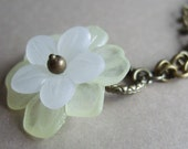 RESERVED - For ThreeFive18 - Flower necklace